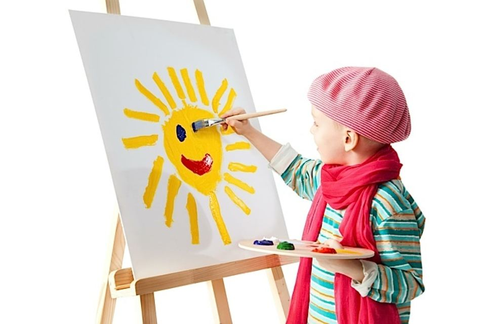 Картинки как рисуют дети